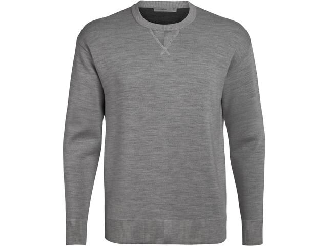 Icebreaker Nova Sweat-shirt Homme, gritstone heather